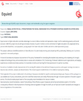 EQUIED: Equal Access For All: Strengthening the Social Dimension for a Stronger European Higher Education Area